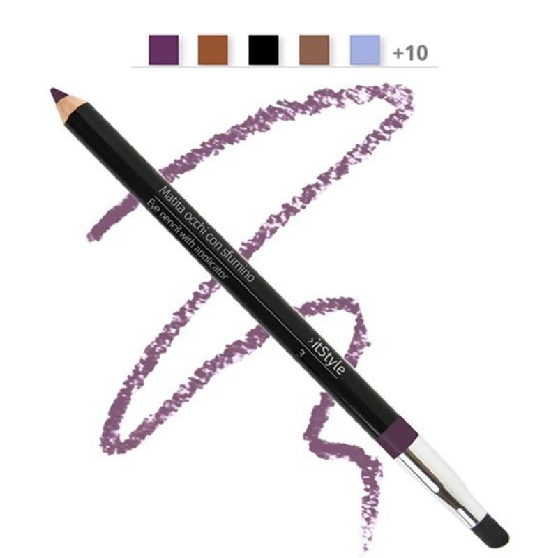 Crayon pour les yeux avec tampon violet 3