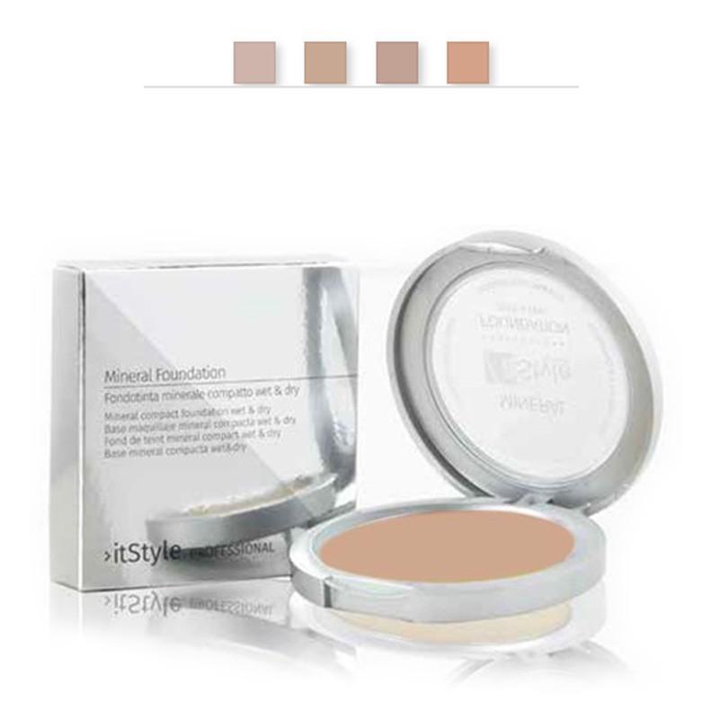 Fond de teint compact minéral couleur sand 1