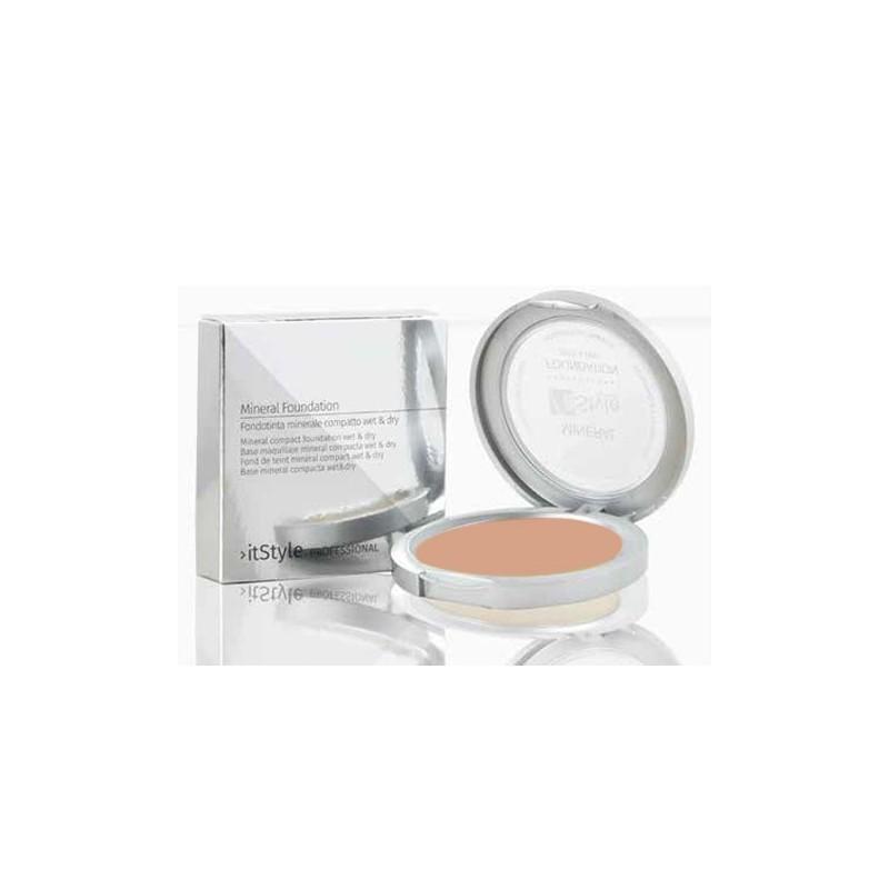 Fond de teint compact minéral couleur tan 4
