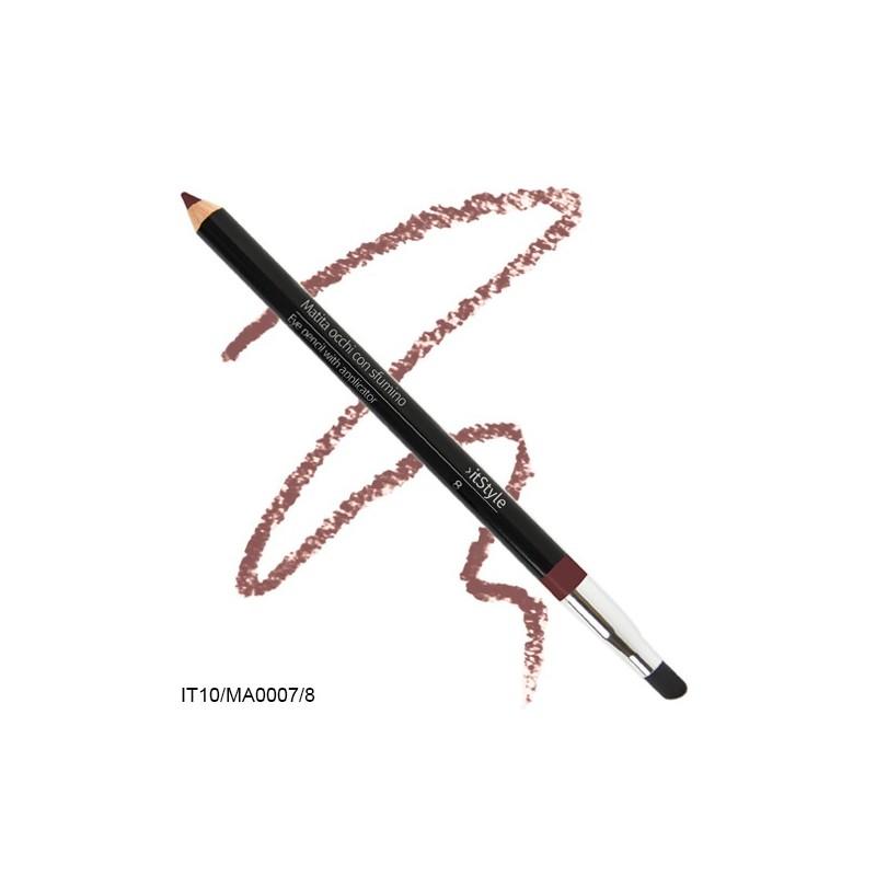 Crayon pour les yeux avec tampon brun 8