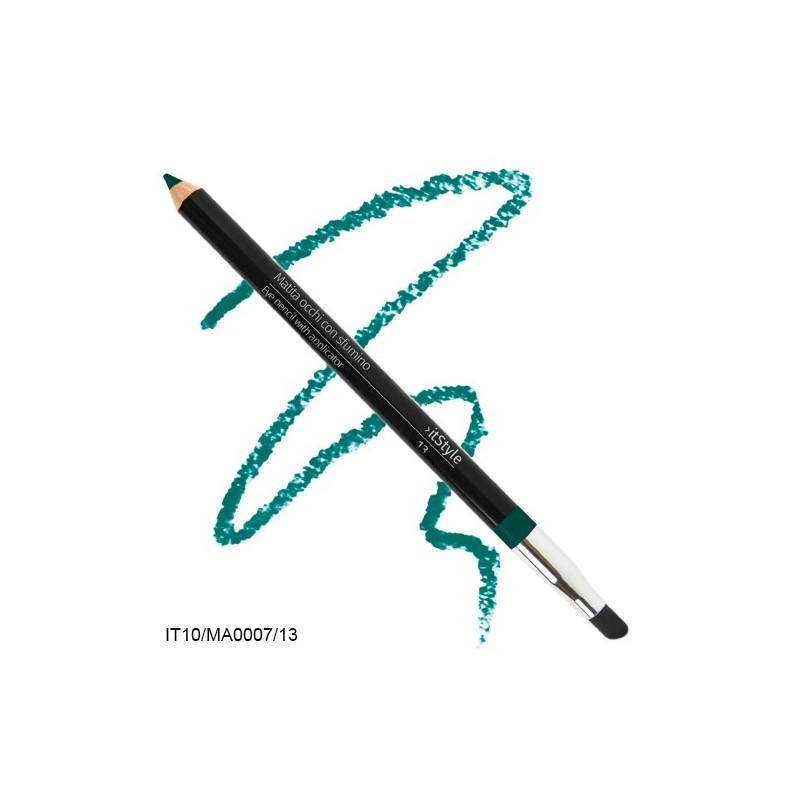 Crayon pour les yeux avec tampon itstyle  vert brillant 13