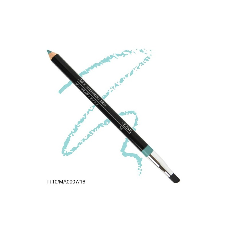 Crayon pour les yeux avec tampon itstyle  vert tiffany 16