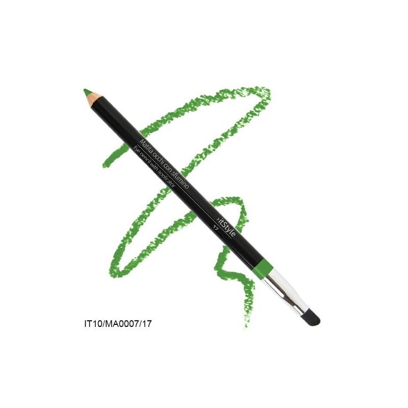 Crayon pour les yeux avec tampon itstyle  vert clair 17
