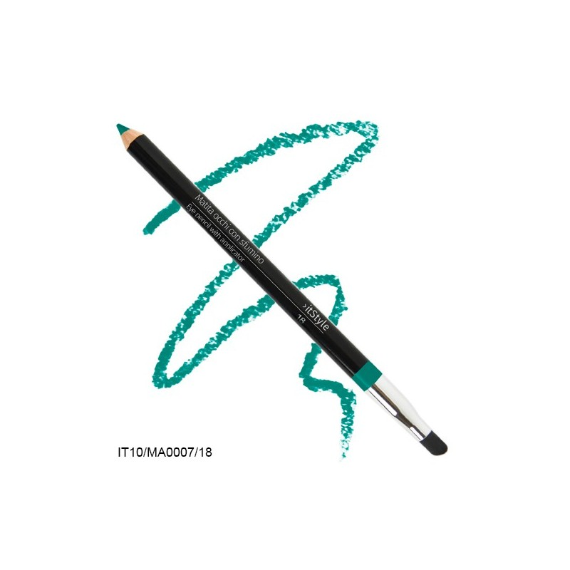 Crayon pour les yeux avec tampon itstyle  turquoise 18