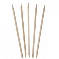 bâtons en bois pour manucure