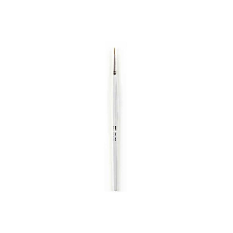 Brosse spécifique pour l'application d'eye-liner liquide.